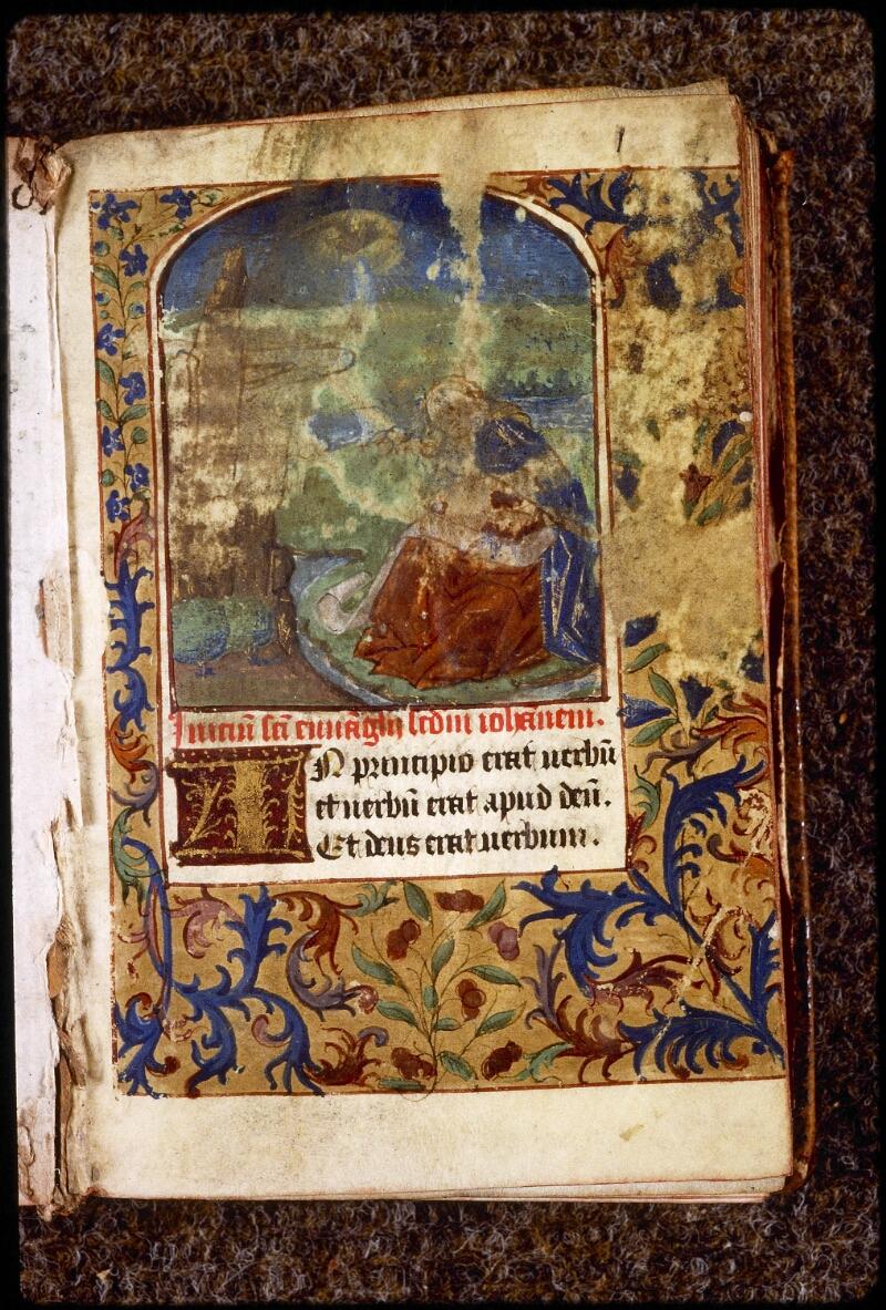 Lyon, Bibl. mun., ms. 0576, f. 001 - vue 2