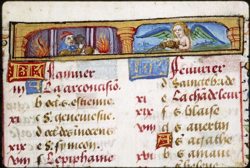 Lyon, Bibl. mun., ms. 0579, f. 001 - vue 3