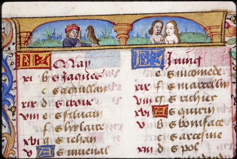 Lyon, Bibl. mun., ms. 0579, f. 002 - vue 1