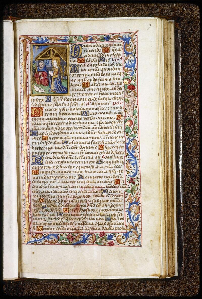 Lyon, Bibl. mun., ms. 0579, f. 009 - vue 1