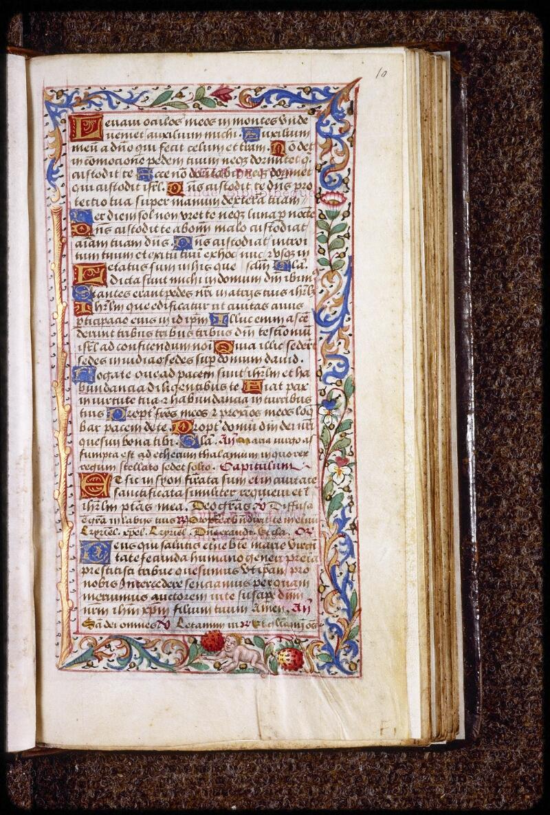 Lyon, Bibl. mun., ms. 0579, f. 010 - vue 1