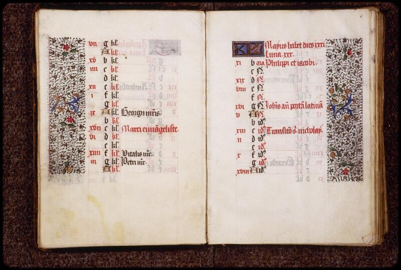 Lyon, Bibl. mun., ms. 0580, f. 005v-006 - vue 2