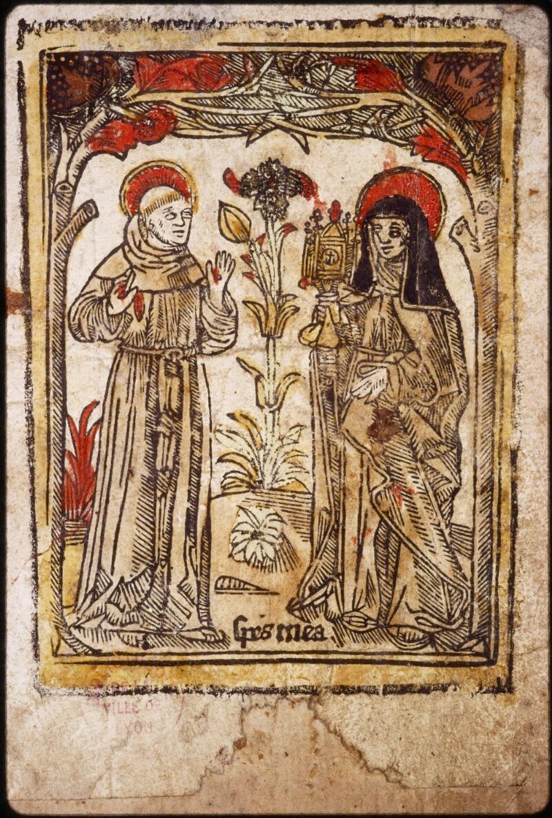 Lyon, Bibl. mun., ms. 0582, contre-plat inf.