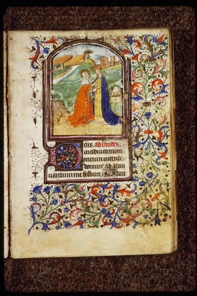 Lyon, Bibl. mun., ms. 0584, f. 050 - vue 1