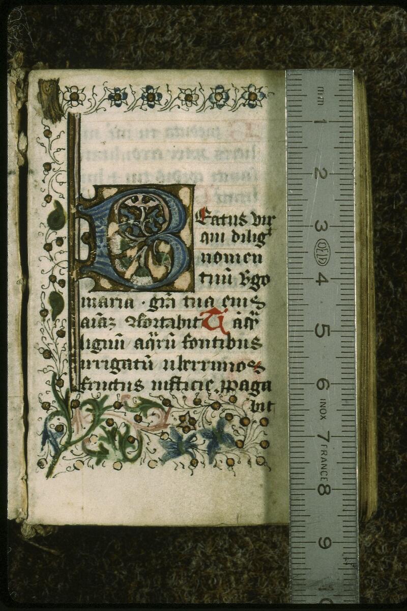 Lyon, Bibl. mun., ms. 0585, f. 001 - vue 1