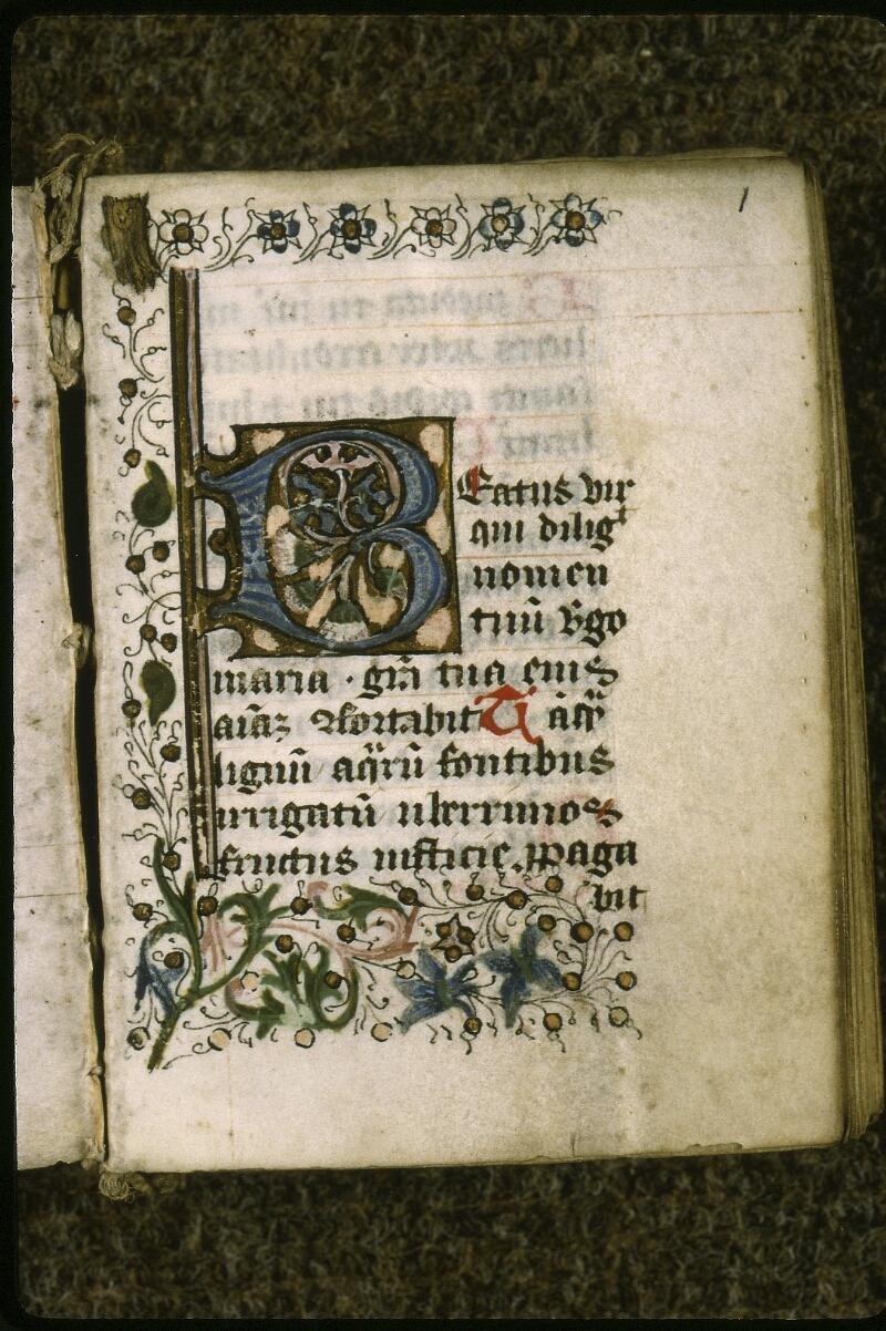 Lyon, Bibl. mun., ms. 0585, f. 001 - vue 2