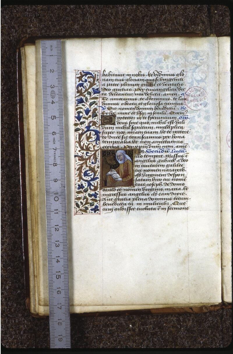 Lyon, Bibl. mun., ms. 0588, f. 007v - vue 1