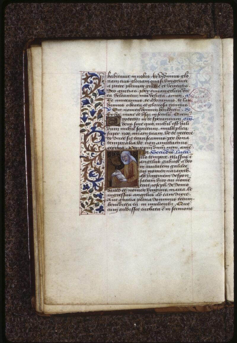 Lyon, Bibl. mun., ms. 0588, f. 007v - vue 2