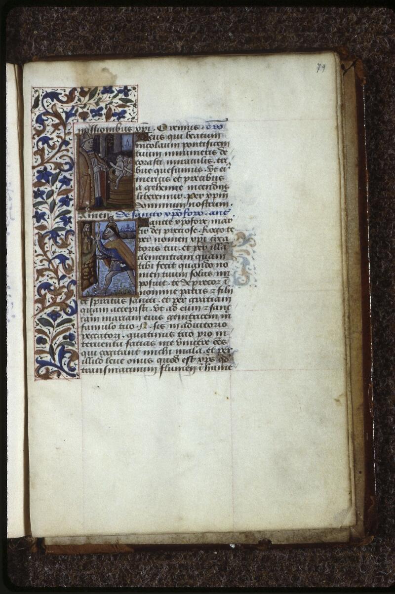 Lyon, Bibl. mun., ms. 0588, f. 079 - vue 1