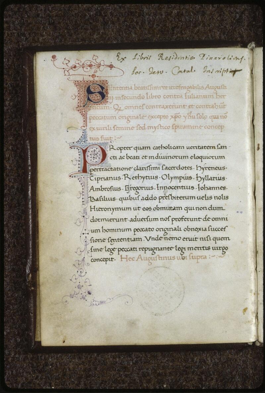 Lyon, Bibl. mun., ms. 0596, f. 002v - vue 2