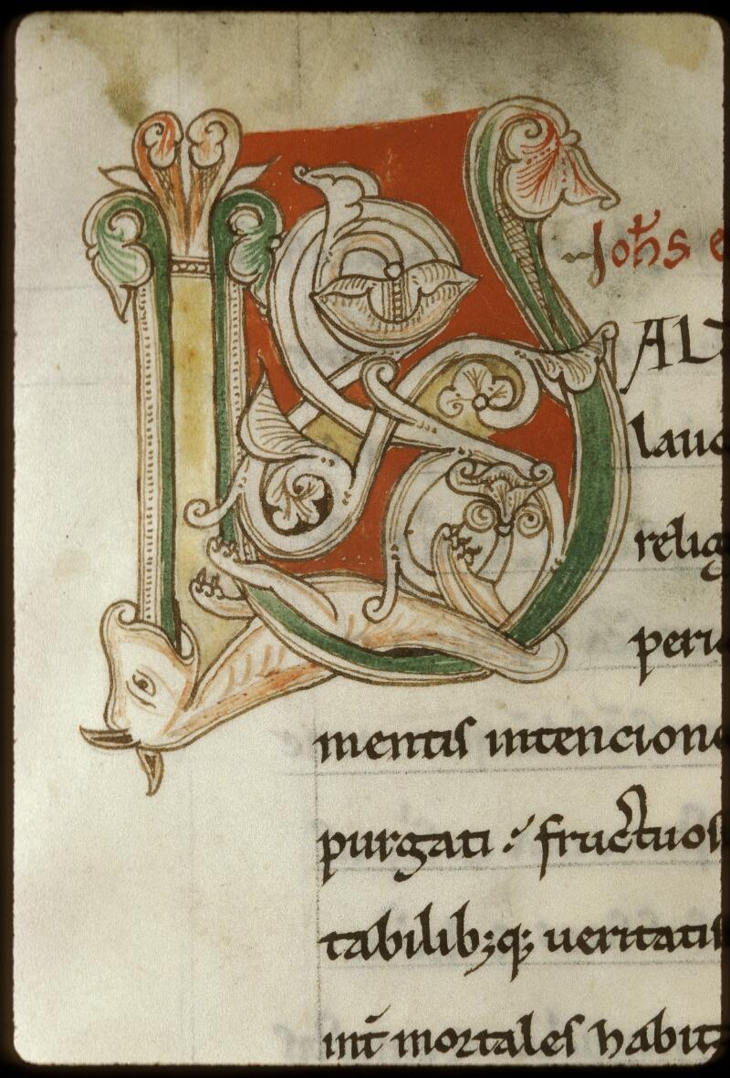 Lyon, Bibl. mun., ms. 0598, f. 003v - vue 3