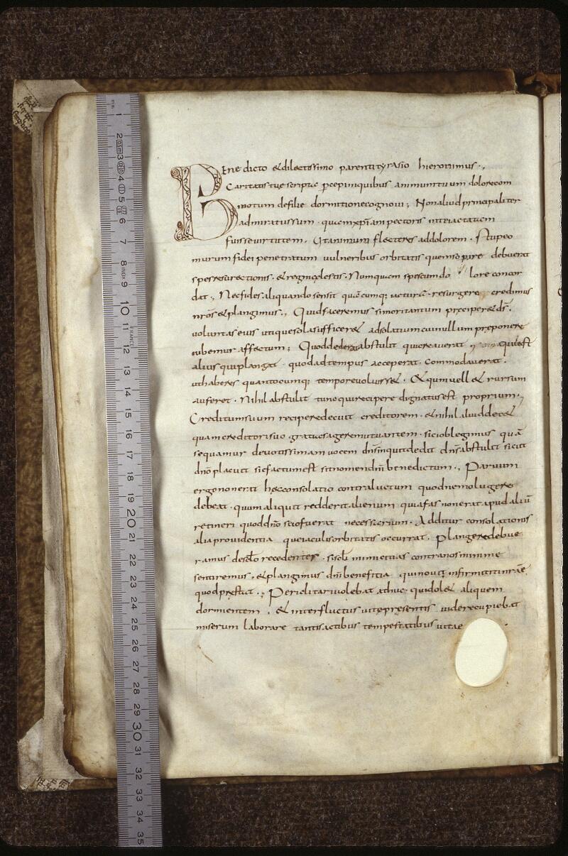 Lyon, Bibl. mun., ms. 0601, f. 012v - vue 1