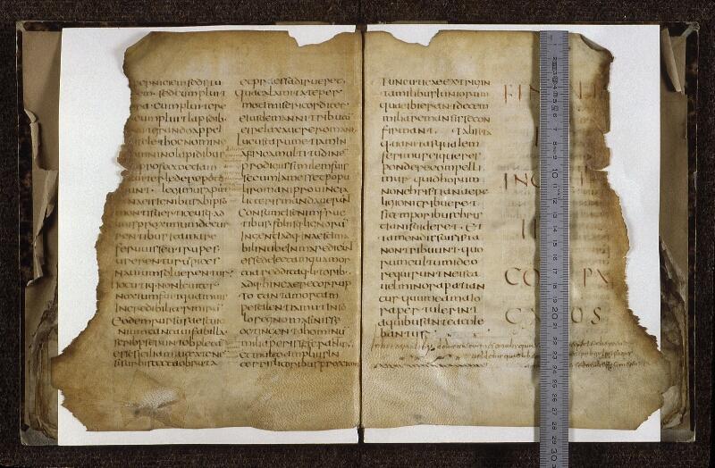 Lyon, Bibl. mun., ms. 0607, f. 077v-078 - vue 1