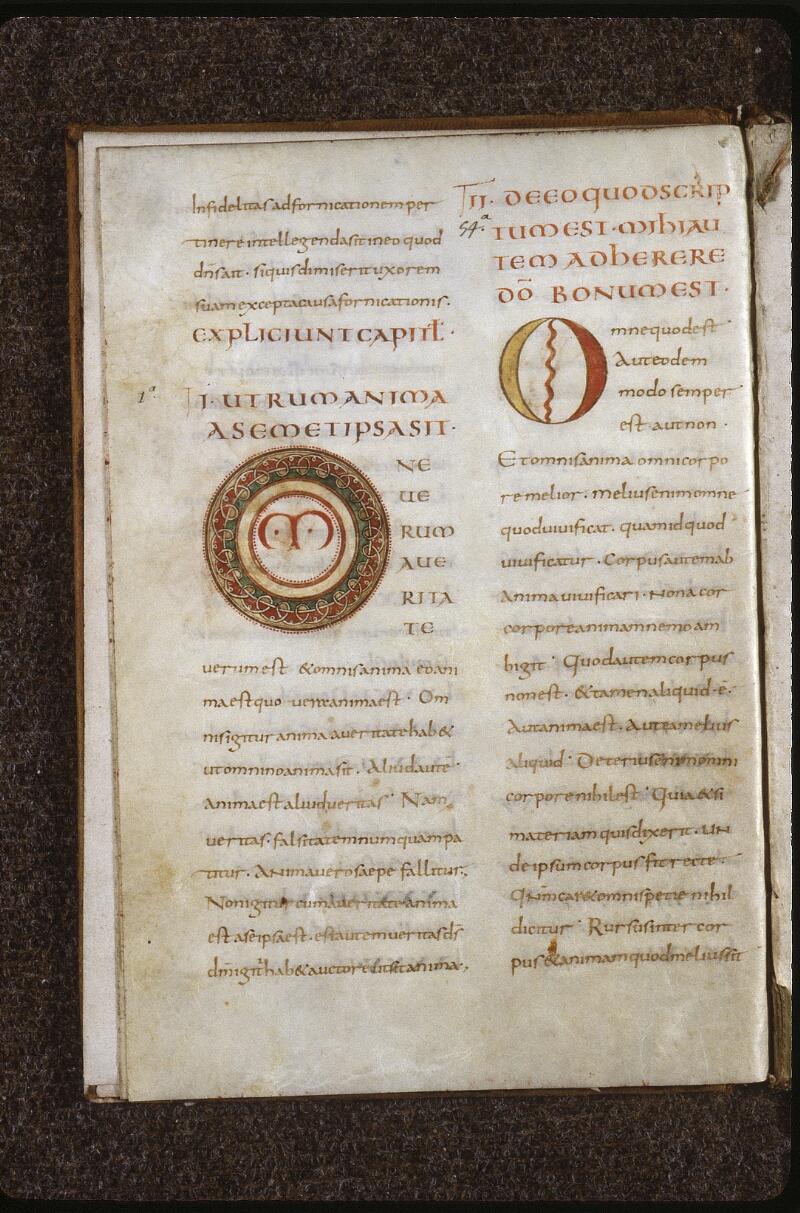 Lyon, Bibl. mun., ms. 0612, f. 003v - vue 1