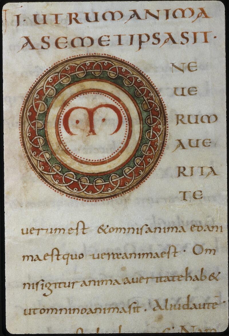 Lyon, Bibl. mun., ms. 0612, f. 003v - vue 2