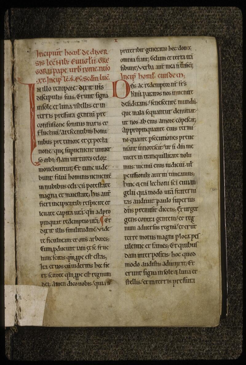 Lyon, Bibl. mun., ms. 0615, f. 002 - vue 2