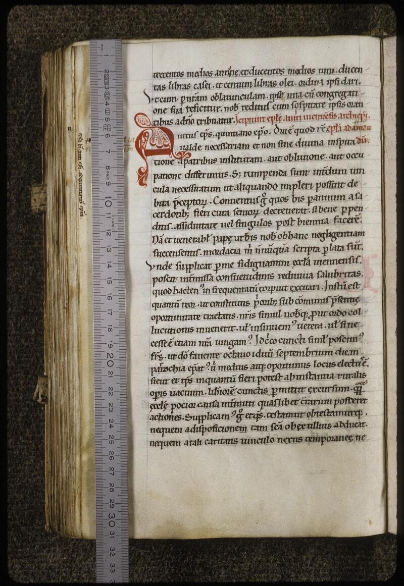 Lyon, Bibl. mun., ms. 0618, f. 133v - vue 1