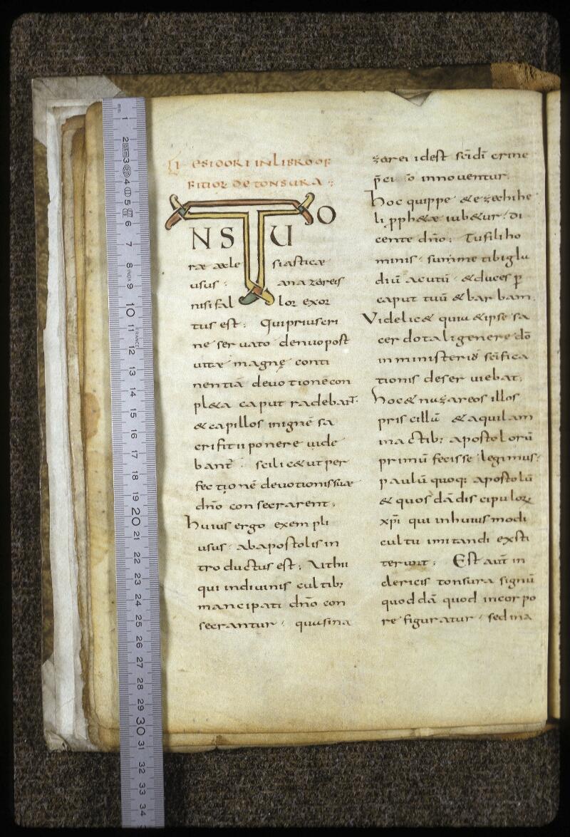 Lyon, Bibl. mun., ms. 0619, f. 007v - vue 1