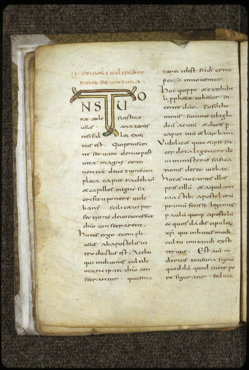 Lyon, Bibl. mun., ms. 0619, f. 007v - vue 2