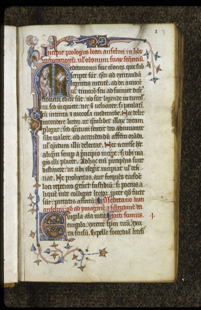 Lyon, Bibl. mun., ms. 0622, f. 007 - vue 1
