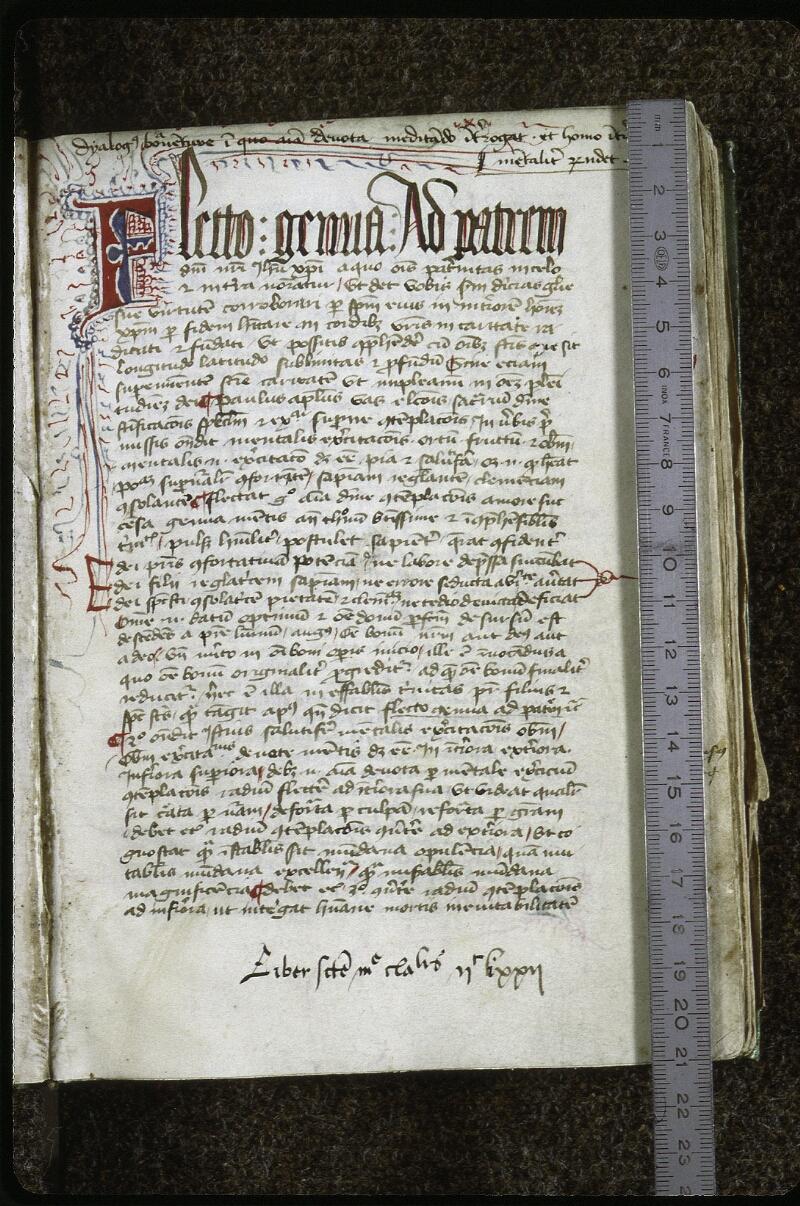 Lyon, Bibl. mun., ms. 0623, f. 002 - vue 1