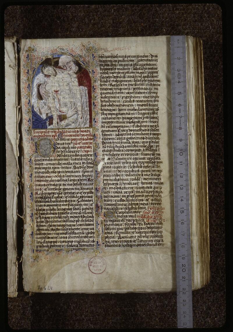 Lyon, Bibl. mun., ms. 0624, f. 001 - vue 1