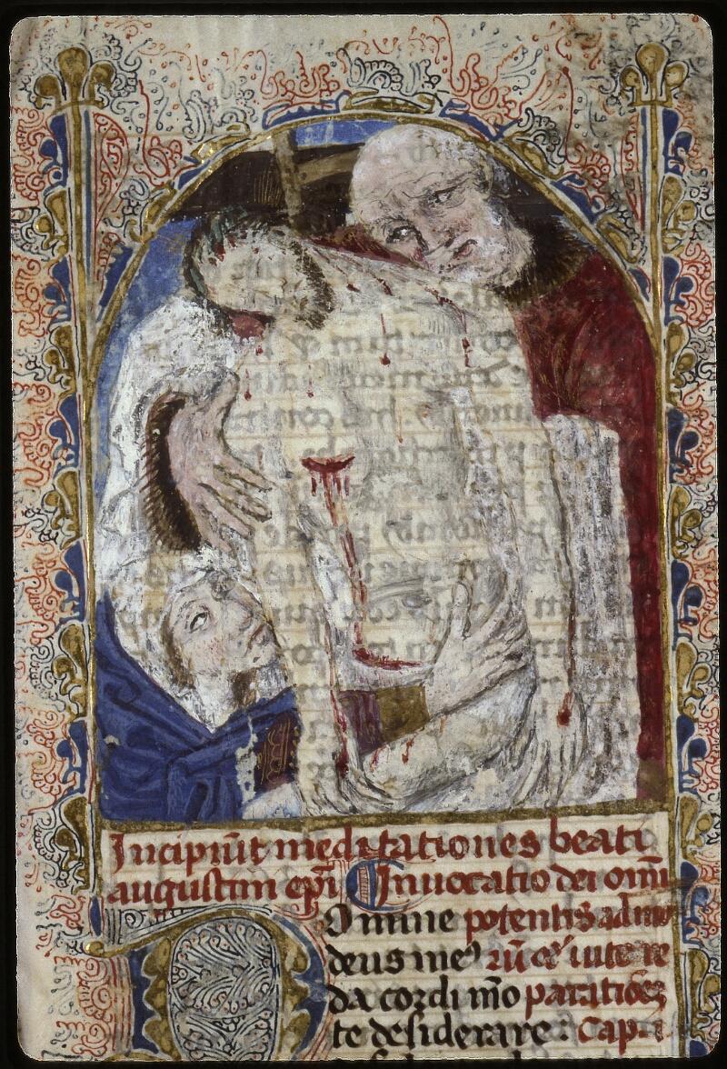 Lyon, Bibl. mun., ms. 0624, f. 001 - vue 3
