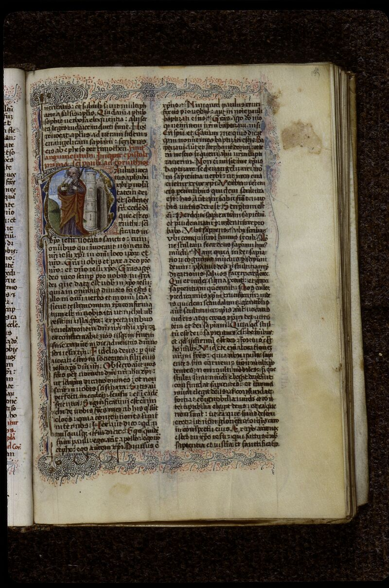Lyon, Bibl. mun., ms. 0624, f. 185 - vue 1