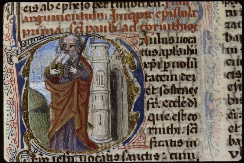 Lyon, Bibl. mun., ms. 0624, f. 185 - vue 2