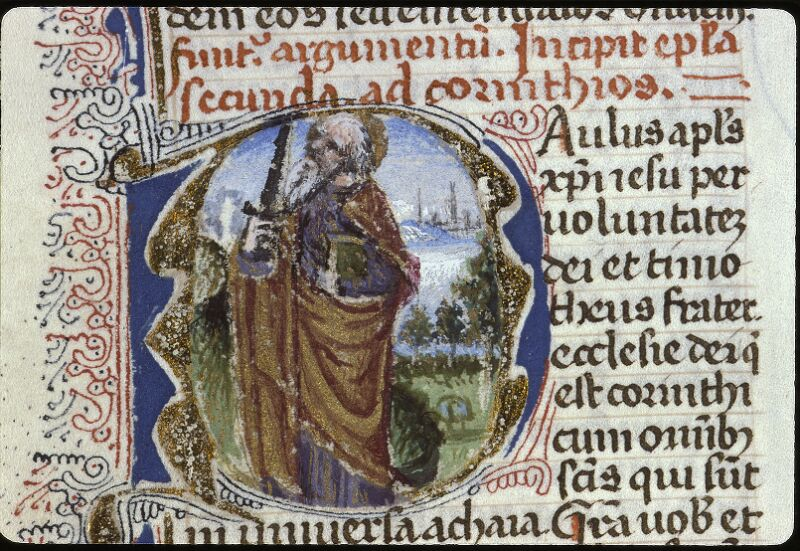 Lyon, Bibl. mun., ms. 0624, f. 191v - vue 2