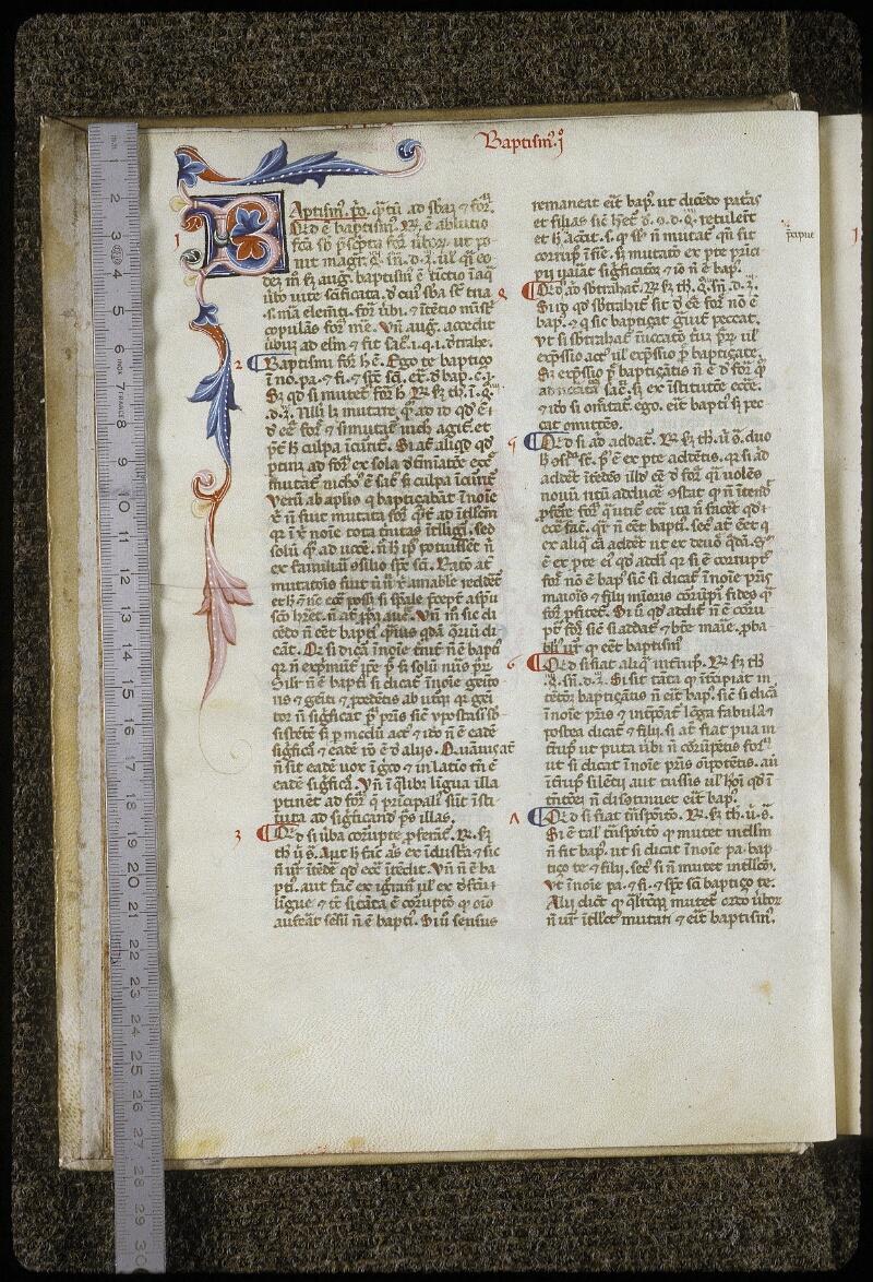Lyon, Bibl. mun., ms. 0642, f. 010v - vue 1