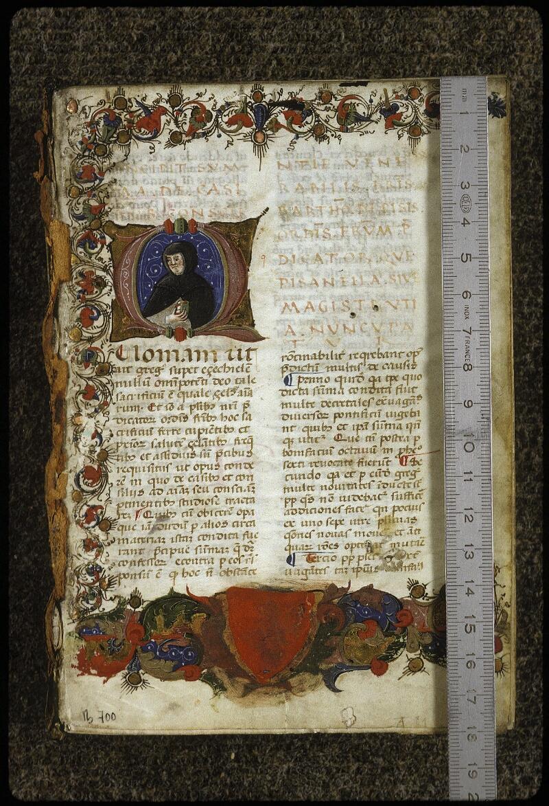 Lyon, Bibl. mun., ms. 0700, f. 001 - vue 1