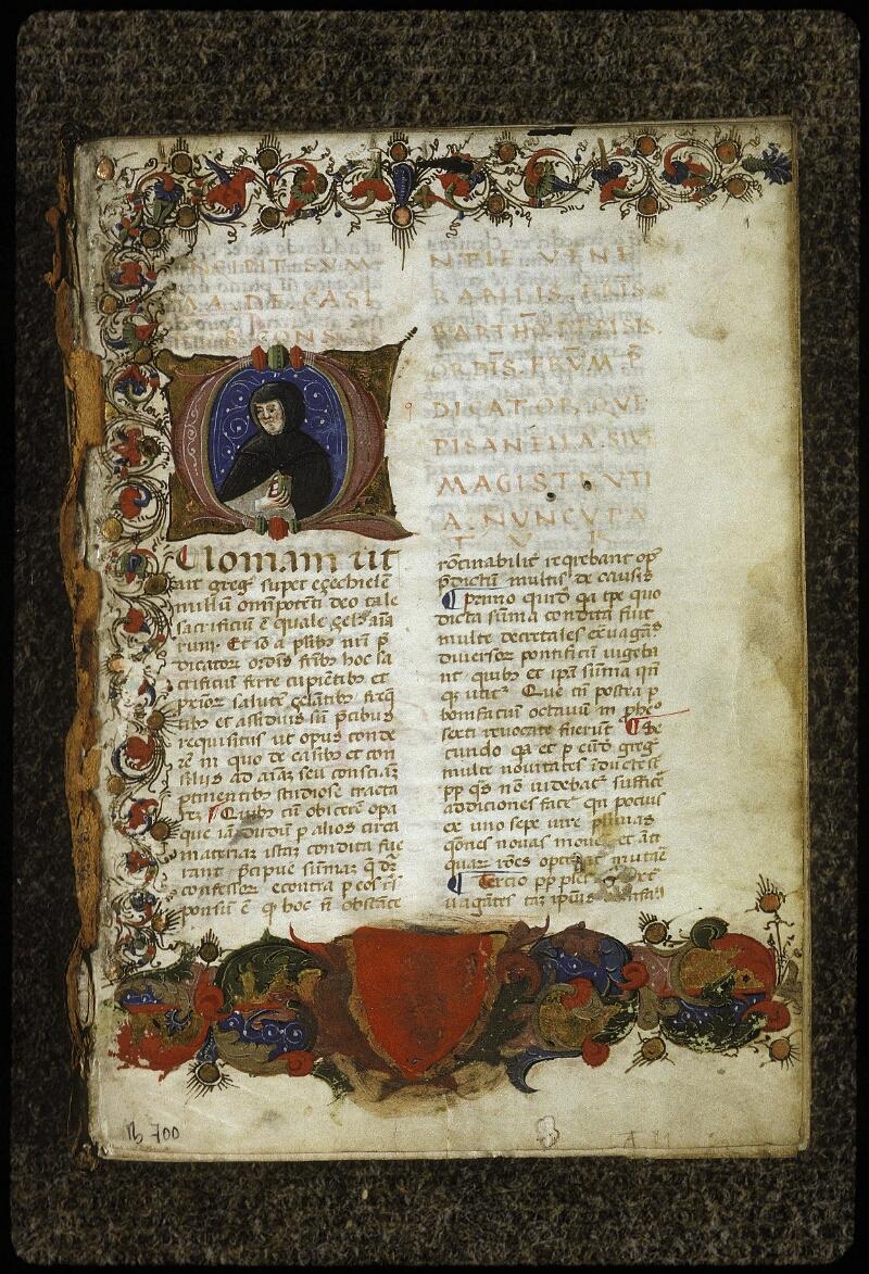 Lyon, Bibl. mun., ms. 0700, f. 001 - vue 2