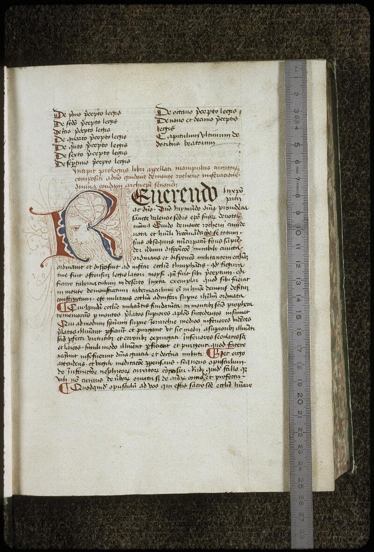 Lyon, Bibl. mun., ms. 0709, f. 003 - vue 1