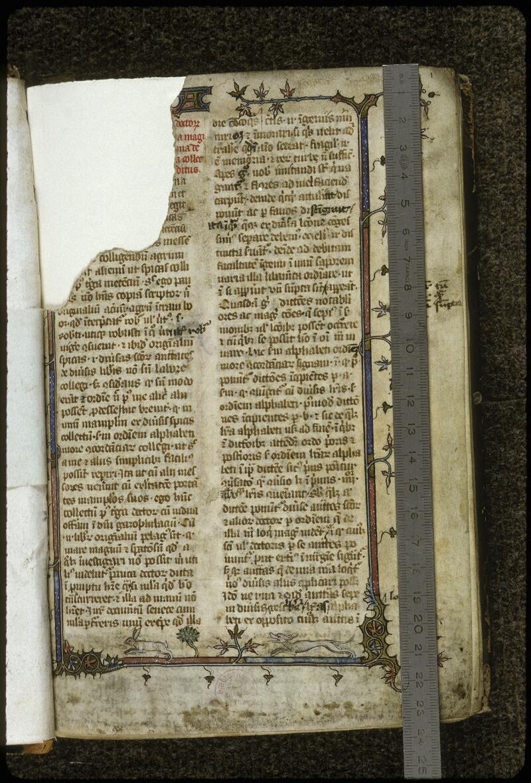 Lyon, Bibl. mun., ms. 0711, f. 001 - vue 1