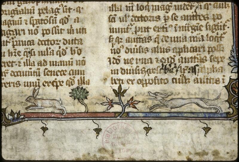 Lyon, Bibl. mun., ms. 0711, f. 001 - vue 3