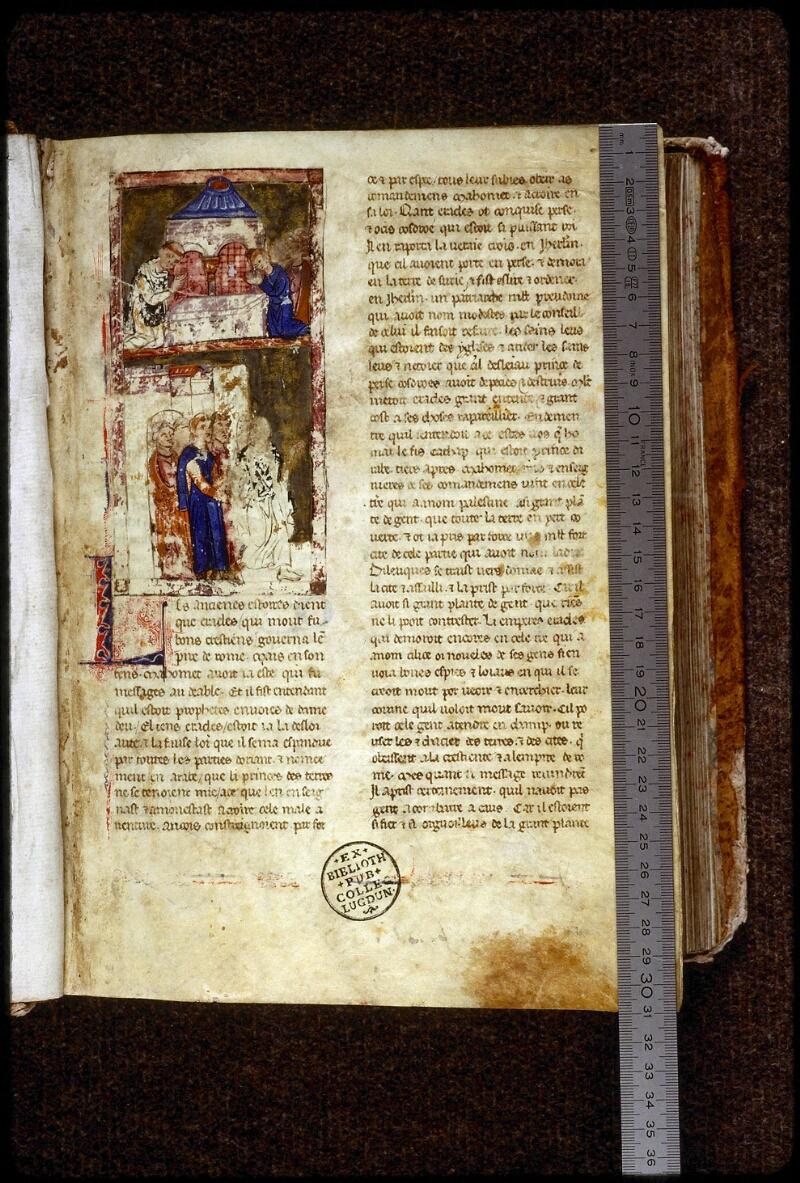 Lyon, Bibl. mun., ms. 0828, f. 001 - vue 1