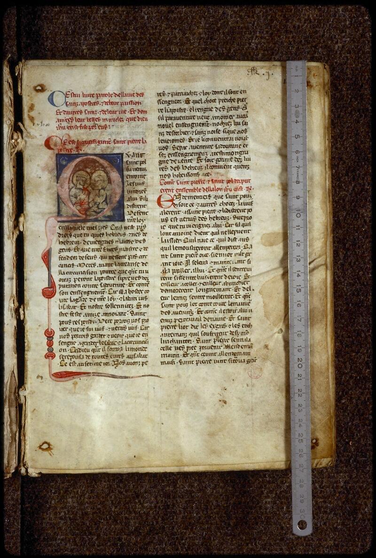 Lyon, Bibl. mun., ms. 0866, f. 001 - vue 1