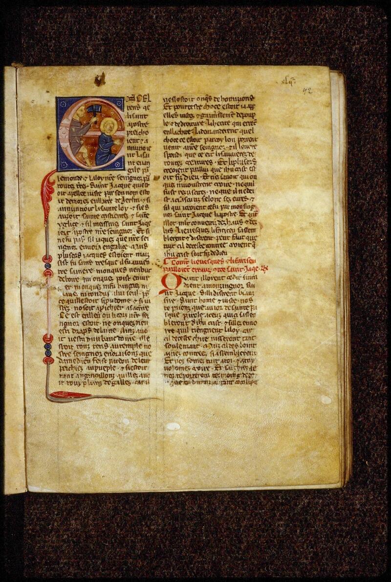 Lyon, Bibl. mun., ms. 0866, f. 042 - vue 1