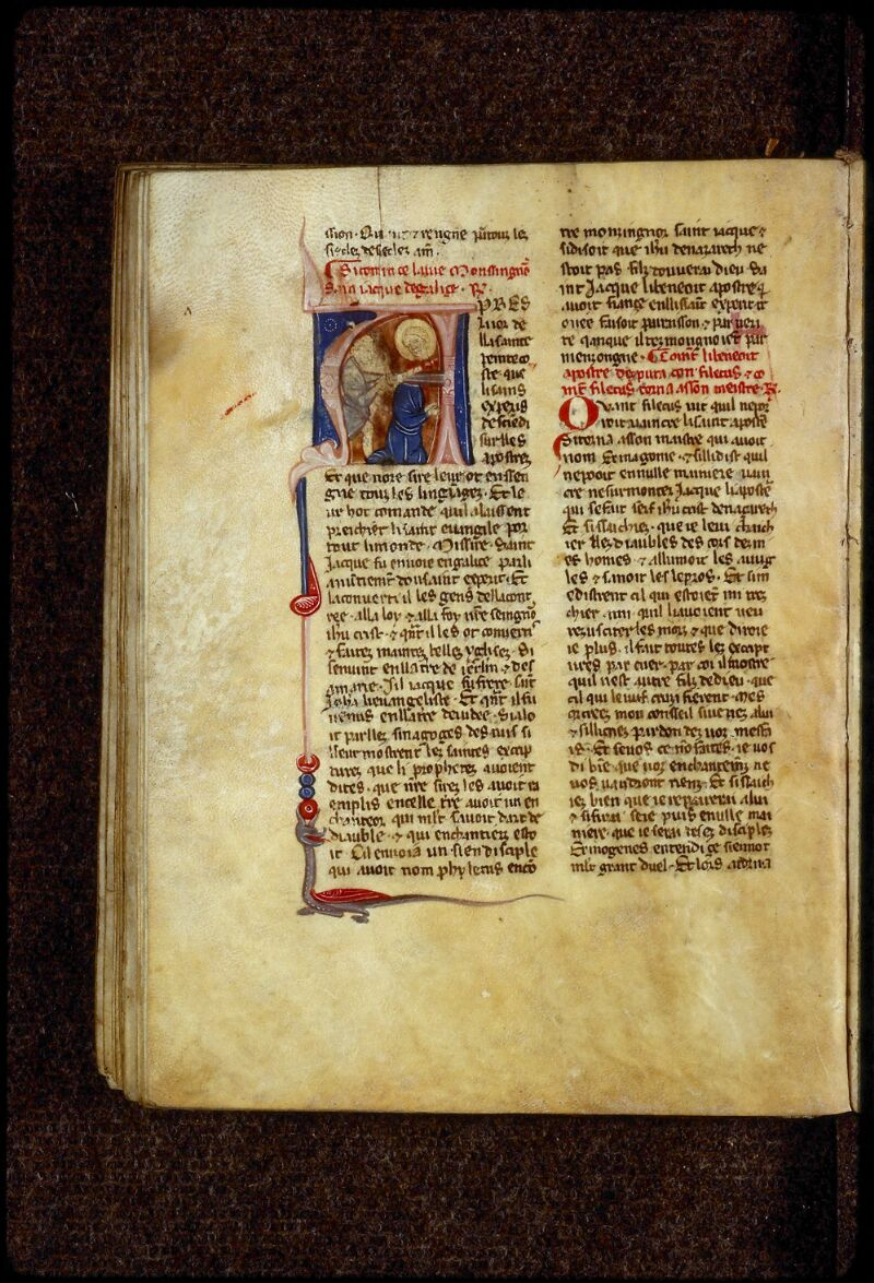 Lyon, Bibl. mun., ms. 0866, f. 043v - vue 1