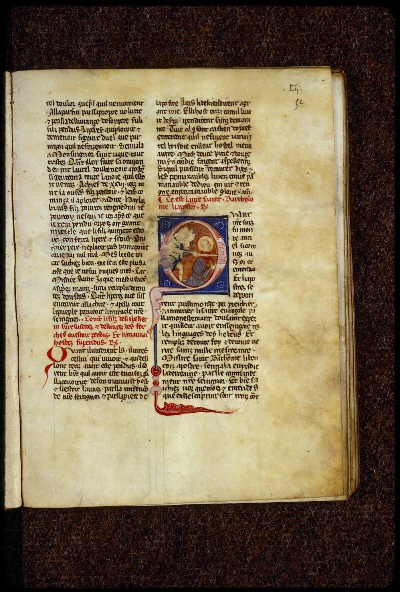 Lyon, Bibl. mun., ms. 0866, f. 052 - vue 1