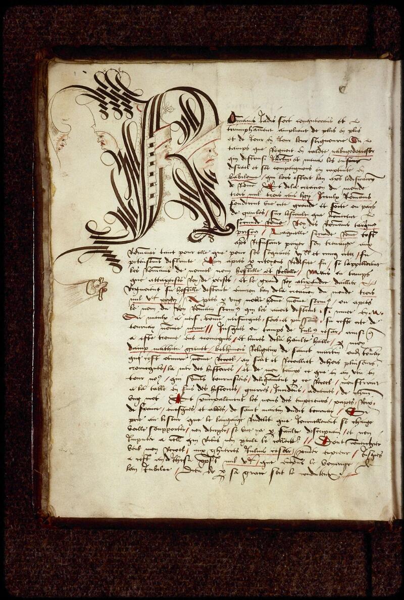 Lyon, Bibl. mun., ms. 0879, f. 001v - vue 2