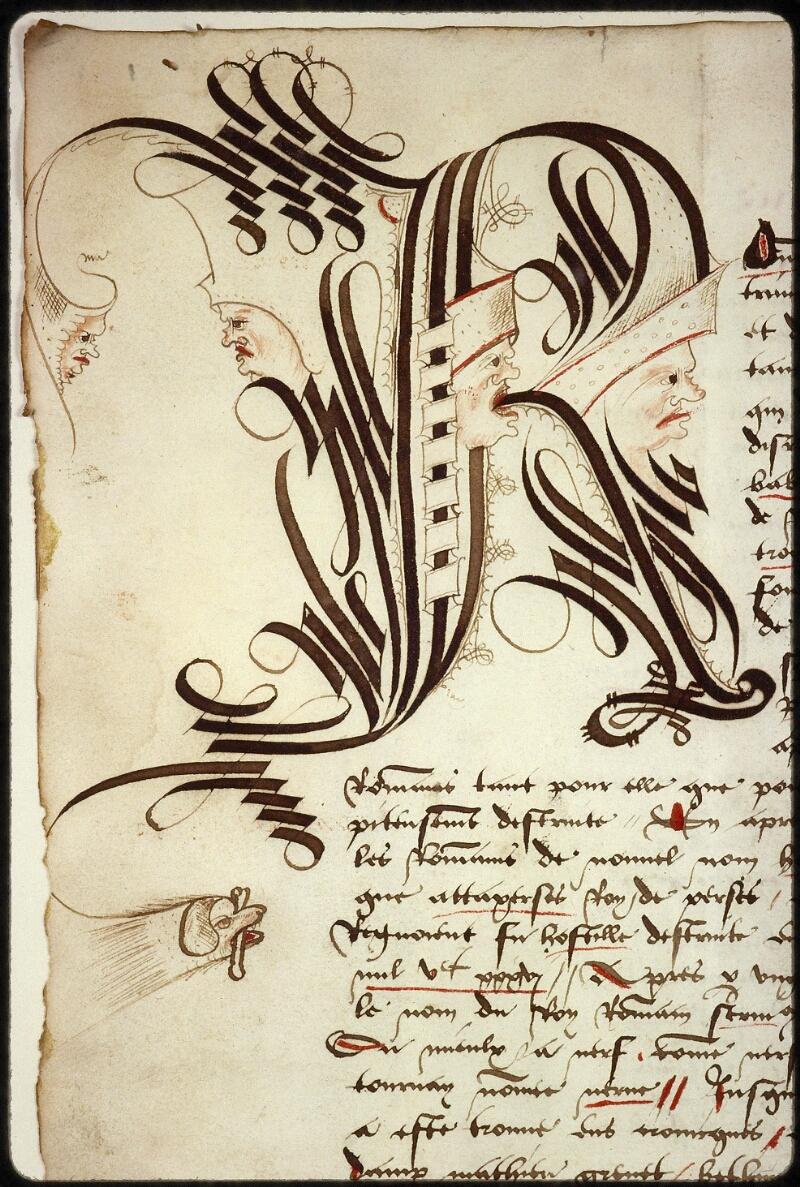Lyon, Bibl. mun., ms. 0879, f. 001v - vue 3