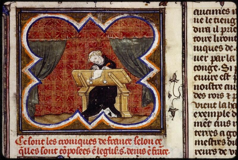 Lyon, Bibl. mun., ms. 0880, f. 001 - vue 3
