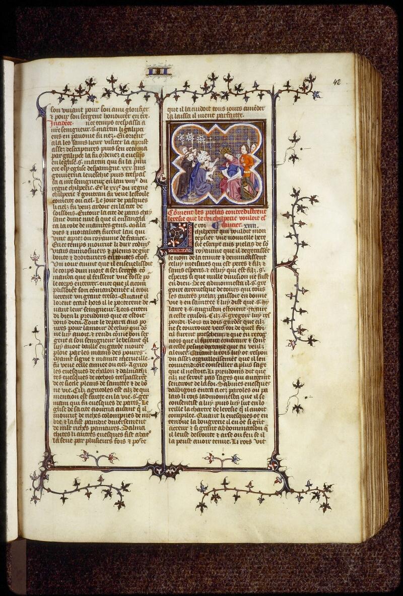 Lyon, Bibl. mun., ms. 0880, f. 042 - vue 1