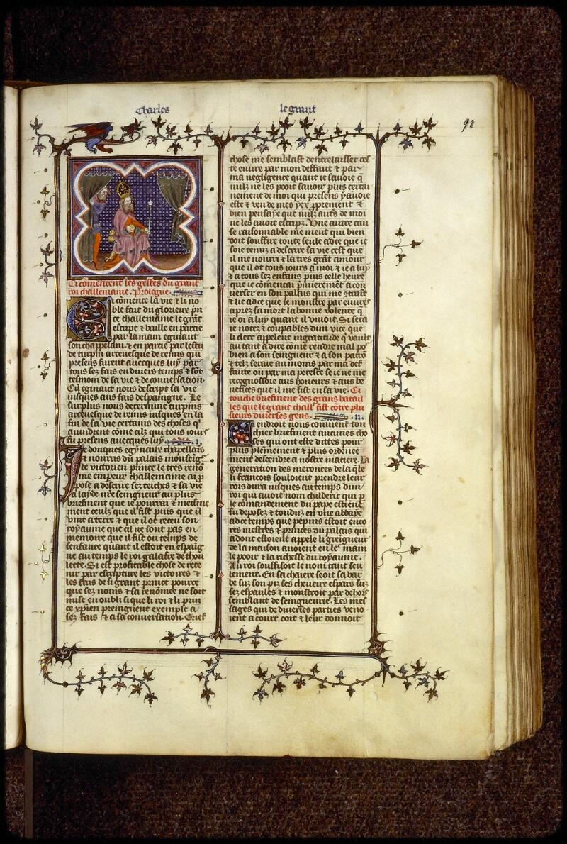 Lyon, Bibl. mun., ms. 0880, f. 092 - vue 1