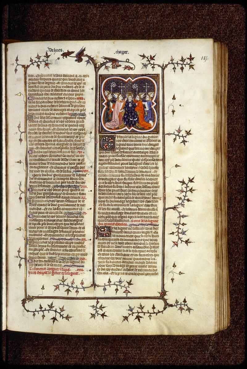 Lyon, Bibl. mun., ms. 0880, f. 185 - vue 1