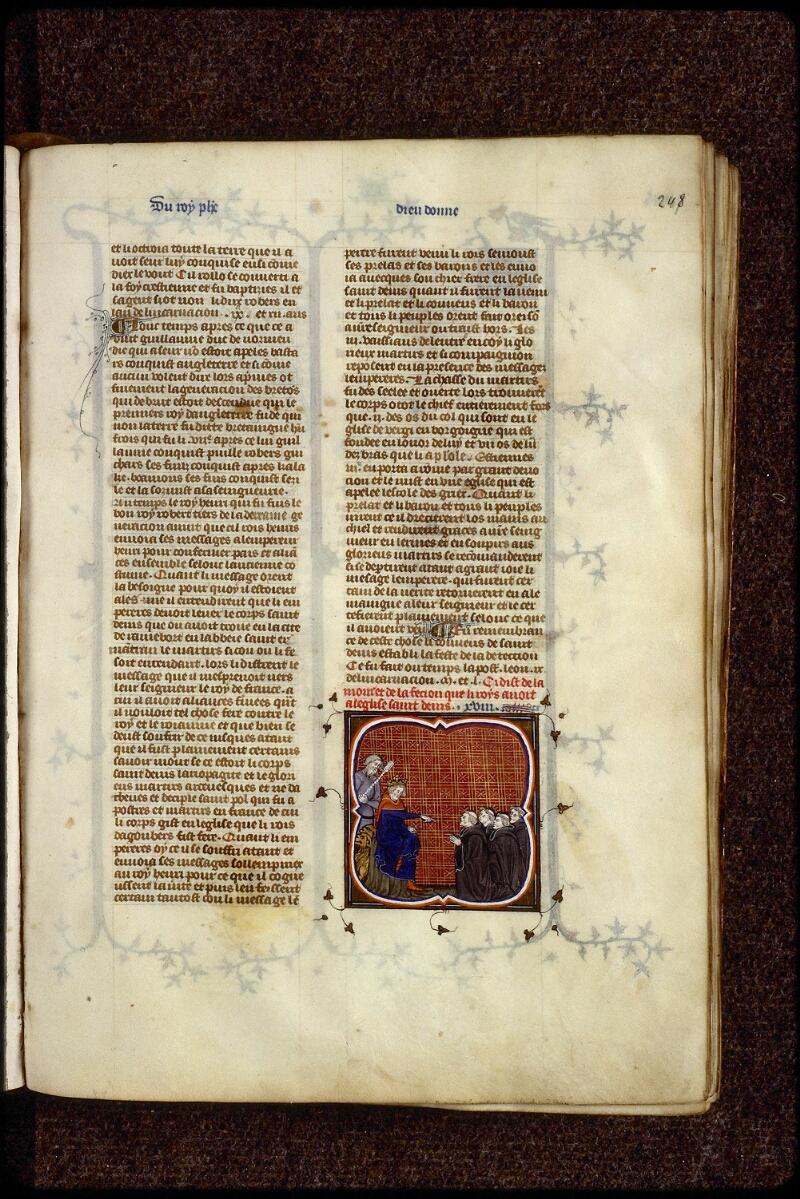 Lyon, Bibl. mun., ms. 0880, f. 248 - vue 1