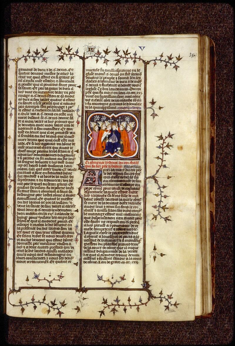 Lyon, Bibl. mun., ms. 0880, f. 370 - vue 1