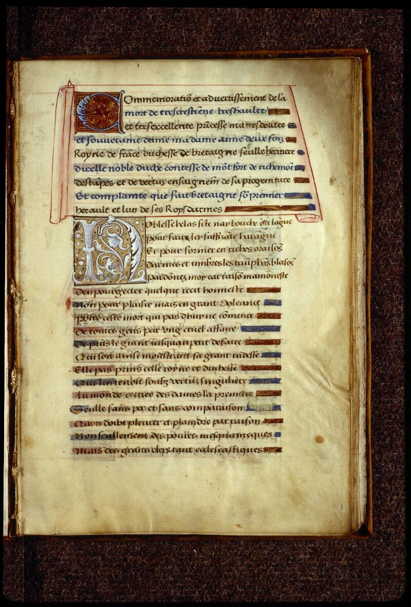 Lyon, Bibl. mun., ms. 0894, f. 001 - vue 2